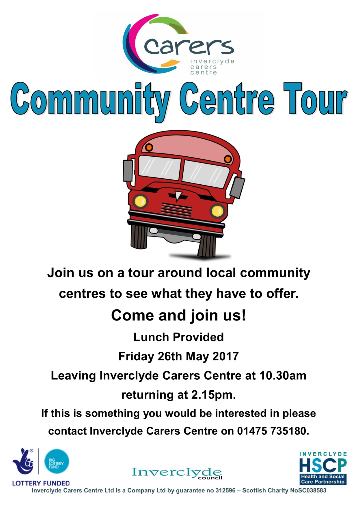 Community Centre Tour - May