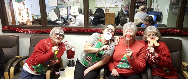 Carers at christmas cheer event
