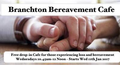 branchton community centre bereavement group poster